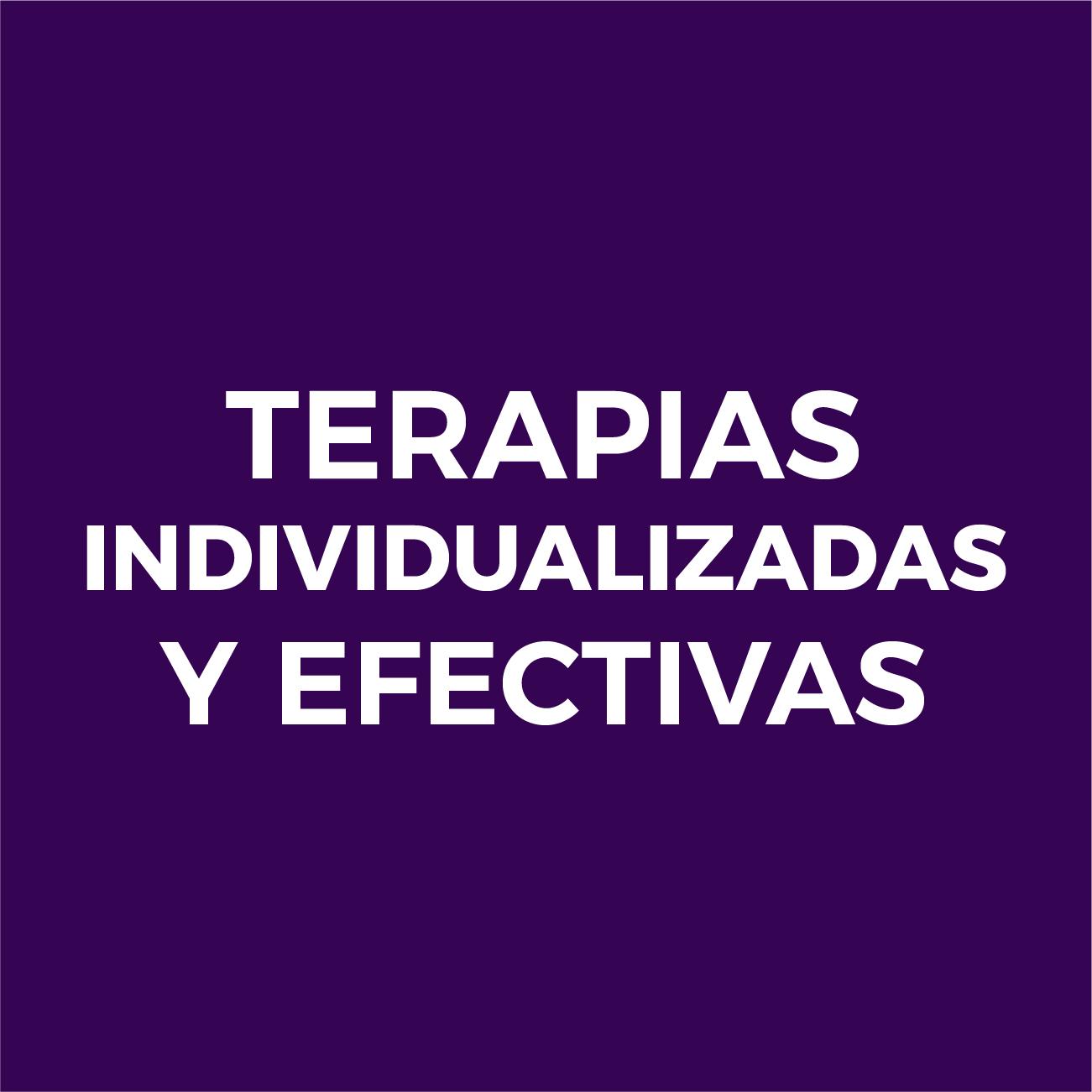 Terapias individualizadas y efectivas