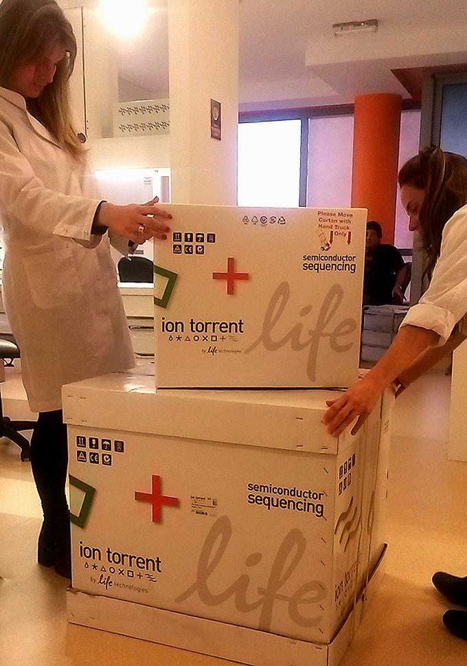 ION Torrent en nuestro Laboratorio de Biología Molecular