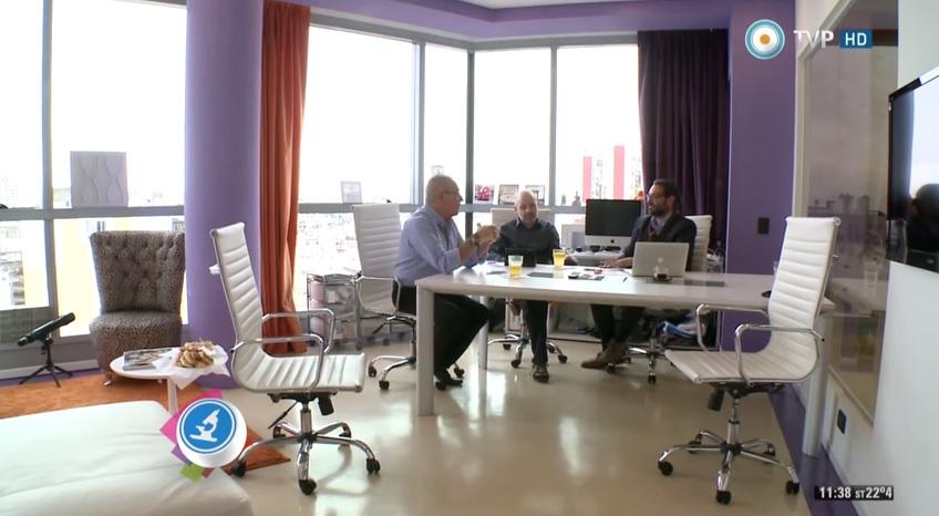Argenomics en TV Pública con Adrián Paenza