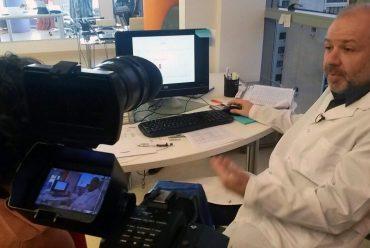 TV Pública vino a conocer nuestro laboratorio